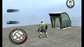 The Incredible Hulk Movie Game Walkthrough Part 5 (Wii