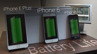 Battery Life: IPhone 6 Vs IPhone 6 Plus Vs IPhone 5s