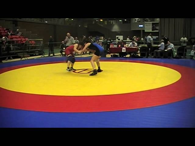 2014 Junior National Championships: 67 kg Therese El-Lati vs. Anne-Cecile Panchaud
