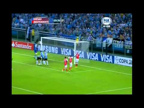 Grmio 2 x 1 Santa F - Oitavas de Final Libertadores 2013 Melhores Momentos