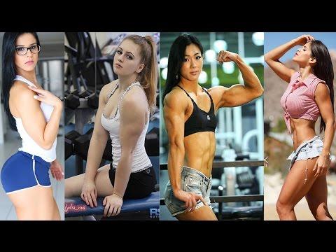 4 Hoa hậu cơ bắp