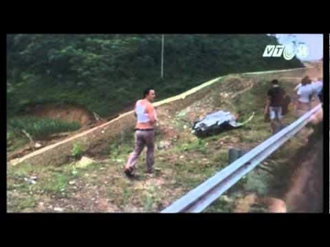 VTC14_Vụ tai nạn đầu tiên trên cao tốc Nội Bài - Lào Cai
