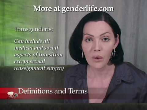 Coming Out 05 - Transsexual Definitions & Terms