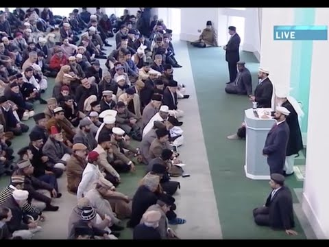 Urdu Khutba Juma 7th March 2014