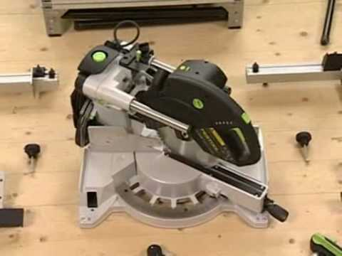 Festool  KS 120 Sliding Compound Mitre Saw 260mm
