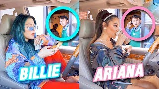 Going Through Drive Thru's Dressed as Celebrities Challenge