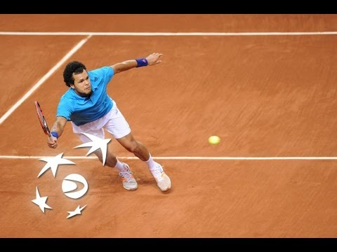 Highlights: Jo-Wilfried Tsonga (FRA) v Lleyton Hewitt (AUS)
