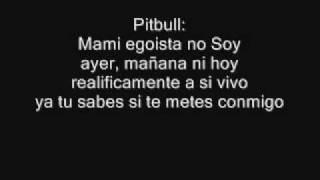 Belinda Ft. Pitbull Egoista (con Letra)