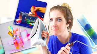ARTIST TESTS INSTAGRAM ART HACKS! PART 2