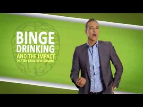 Impact of binge drinking on teen brain development  DrinkWise Australia