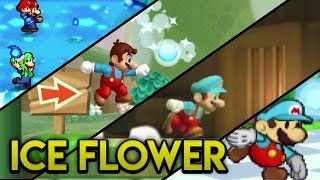 Evolution of Ice Flower in the Super Mario Series (2005-2016)