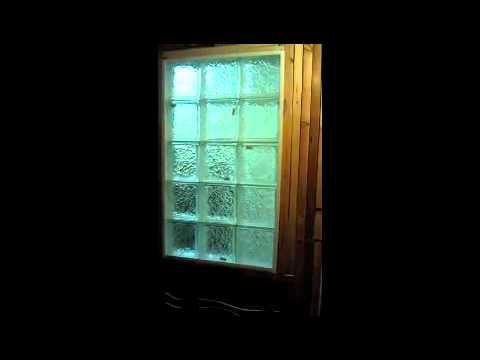 Glass window glass block window cost for Glass block windows prices