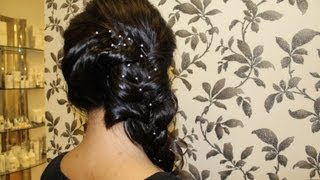 Side Braid Hairstyle | Indian, Pakistani, Asian Hair Style | Hairstyles With Extensions