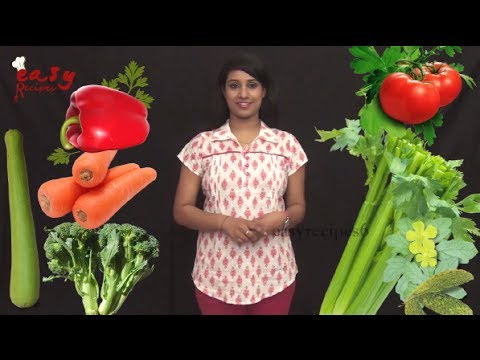 Lose Weight With Vegetables - Easy Recipes - Health Tips - easy Tips