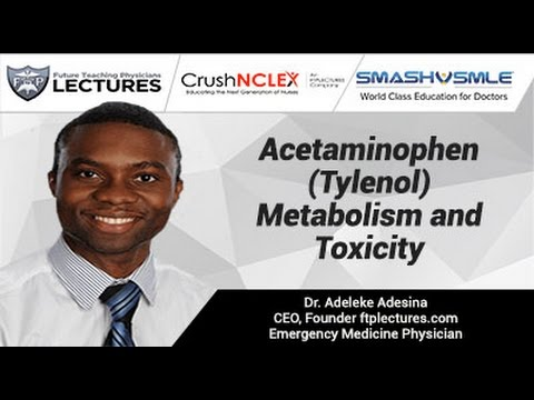 Acetaminophen (Tylenol) Metabolism and Toxicity