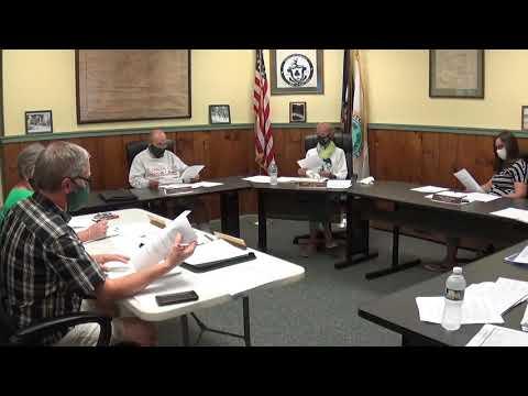 Champlain Village Board Meeting  9-13-21
