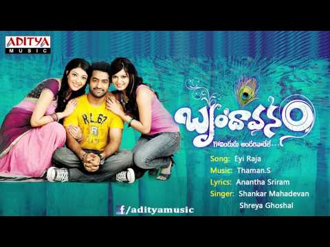 Brindaavanam Movie | Eyi Raja Full Song | Jr.ntr, Kajal Agarwal,Samantha
