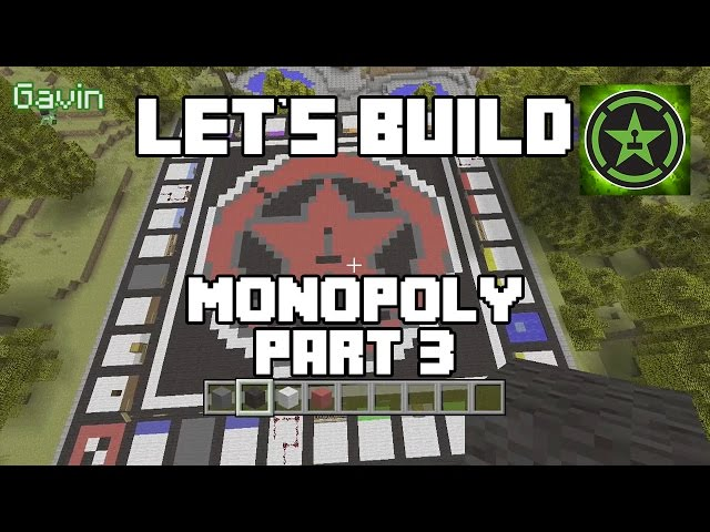 Let's Build in Minecraft - Monopoly Part 3