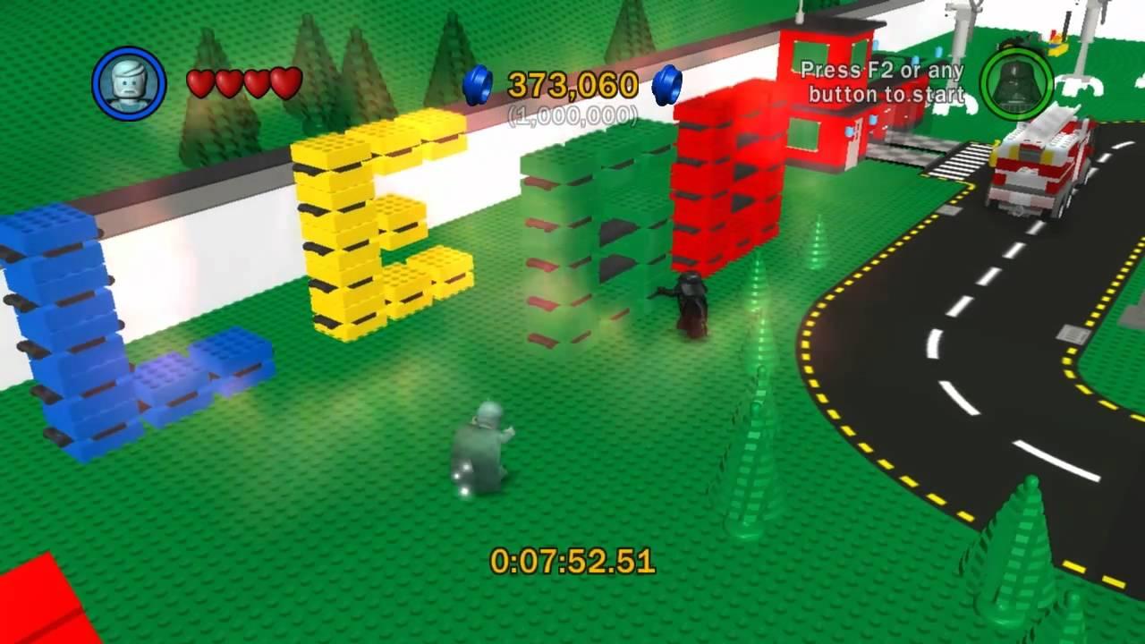 Lego Star Wars The Complete Saga Lego City 96