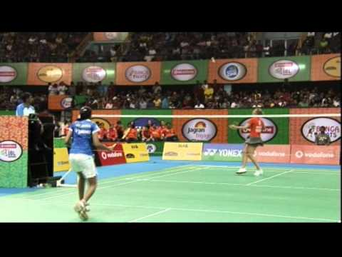PV Sindhu Vs Tine Baun | Women's Singles | Awadhe Warriors Vs Mumbai Masters 2013