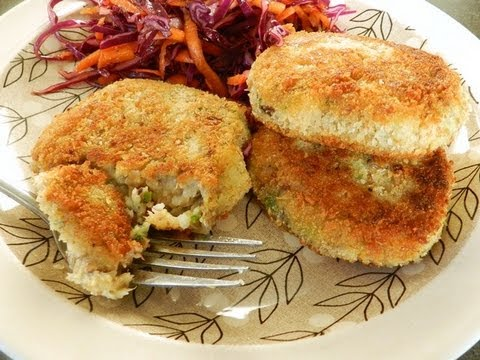 How to make simple fish cakes youtube for How to make fish patties