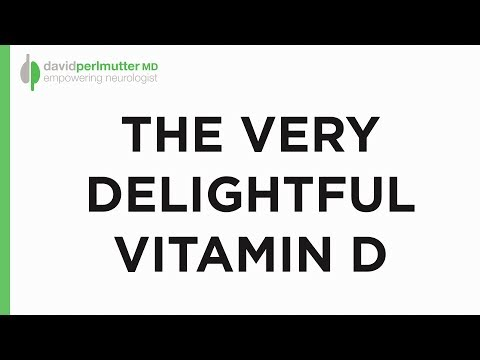 The Very Delightful Vitamin D