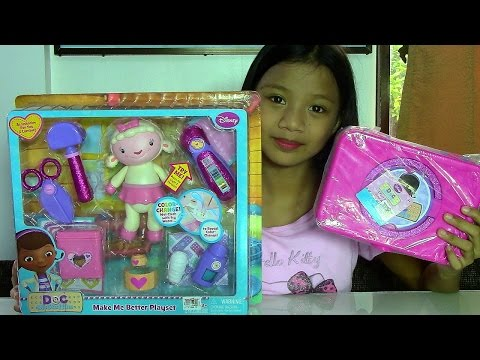 Disney Junior Doc McStuffins Make Me Better Playset - Doc McStuffins First Aid Kit