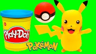 Pikachu Stop Motion animation Pokemon Go Play Doh movie