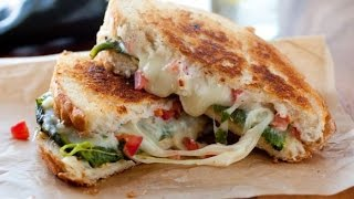 Tasty Cheese Sandwich Recipe - Vegetable Sandwich with Cheese - Tasty Vegetable Sandwich