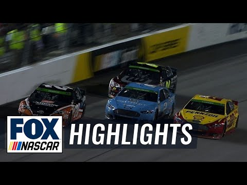 Joey Logano Wins in Chaotic Finish - Richmond - 2014 NASCAR Sprint Cup