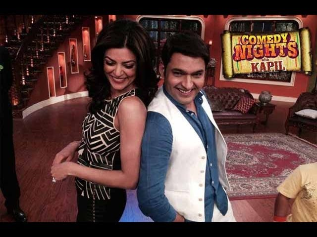 Sushmita Sen on Comedy Nights with Kapil 12th April 2014 FULL  EPISODE