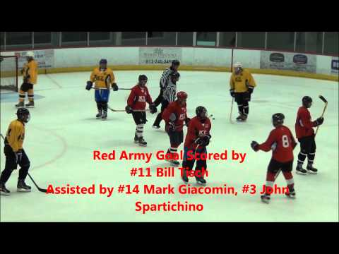 ISF Over 50 Hockey Week 4 Summer 2013: Red Army vs Yellow Jackets (5-13-2013)