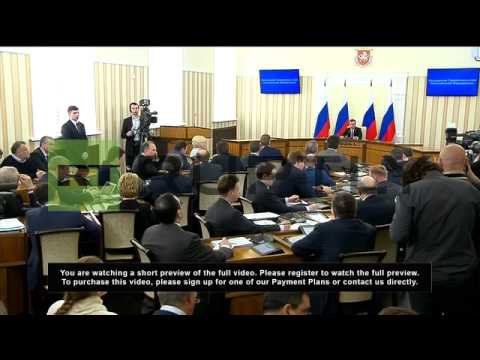 "Russia: Crimea region to be ""special economic zone"" - Medvedev"