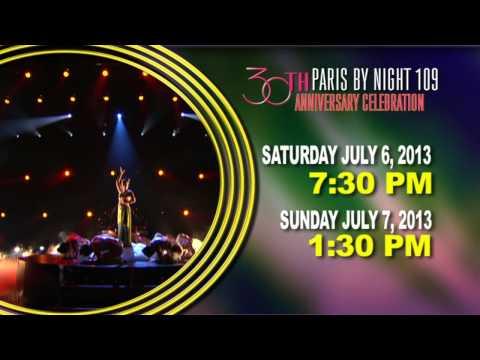 Paris By Night 109 30yrs Anniversary