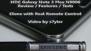 REVIEW! Of The HDC GALAXY Note 3 MAX N9006