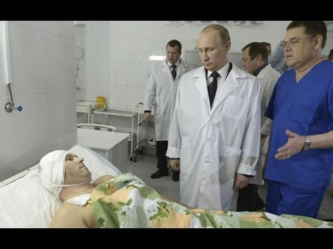 Vladimir Putin meets Volgograd bombing survivors