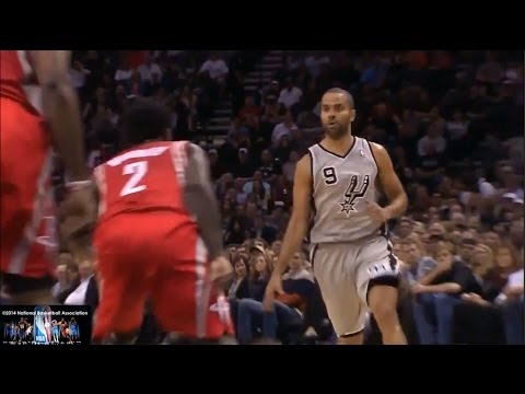Tony Parker Offense Highlights 2013/2014