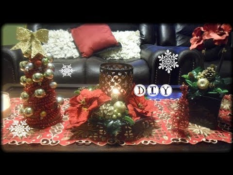 Manualidades para Navidad : Arbolito elegante Y decoraciones
