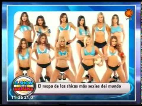Argentina tiene las mujeres más sexies del mundo   07 04 2014