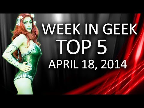 Hearthstone on iPad, Cosplay and More! Week in Geek Top 5