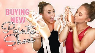 Buying New Pointe Shoes! | The Rybka Twins