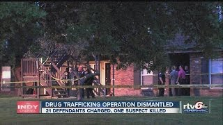 OPERATION CODE RED RAIDS FOR DRUGS NETS ARRESTS ACROSS INDIANAPOLIS ...