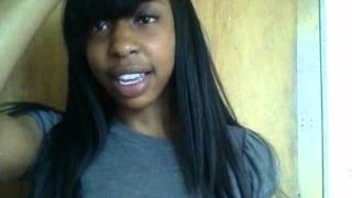 Sew in Weave with Side Bangs