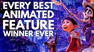 Every Best Animated Feature Winner. Ever. (2002-2018 Oscars)