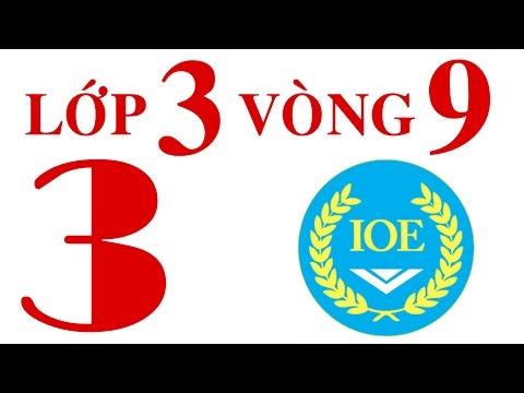 IOE Olympic Tiếng Anh lớp 3 vòng 9 năm 2014-2015