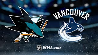 Meier nets two to help Sharks top Canucks, 5-3