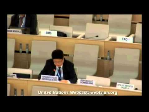 North Korea on Human Rights in Germany at UN-Meeting