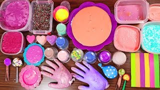 Slime Smoothie - Mixing Old Slimes And More
