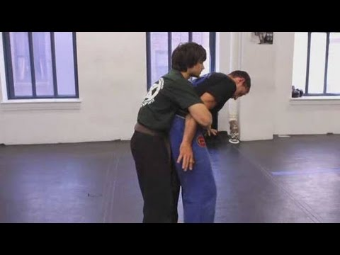 Krav Maga Techniques: Bear Hug from the Rear with Arms Pinned