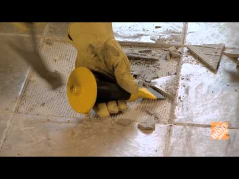 Cómo cambiar baldosas de cerámica rotas